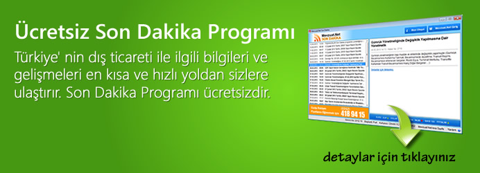 Mevzuat.Net Son Dakika Program�