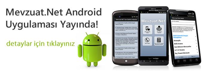 Mevzuat.Net Android Uygulamas�
